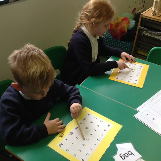 Reading all sounds Independently