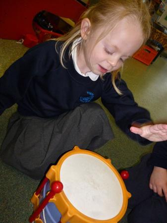 Learning to copy and imitate rhythms