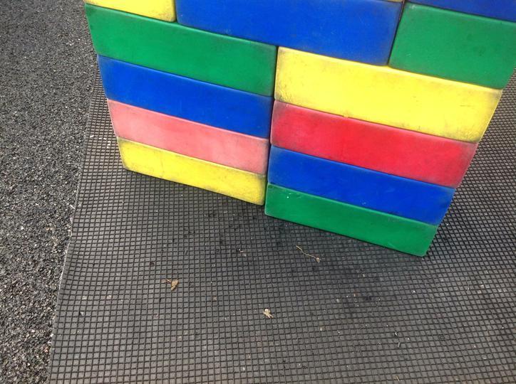 Pattern made outside
