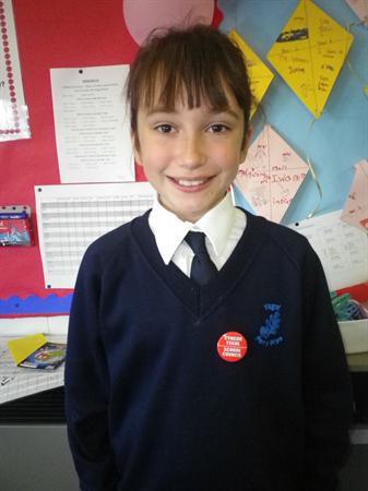 Meet our School Councillors-Sophie 5HJ