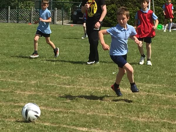 House Matches-Football and Netball