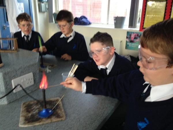 Blitz Science Lesson