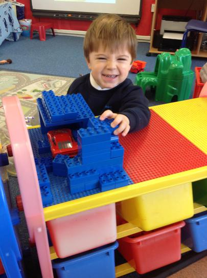 building with the duplo