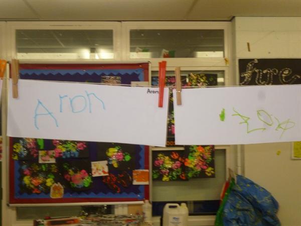 Fantastic name writing!