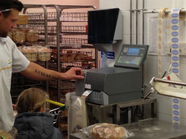 Making sure we put in the right code for the bread