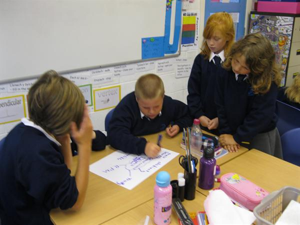 Working in groups to classify sounds