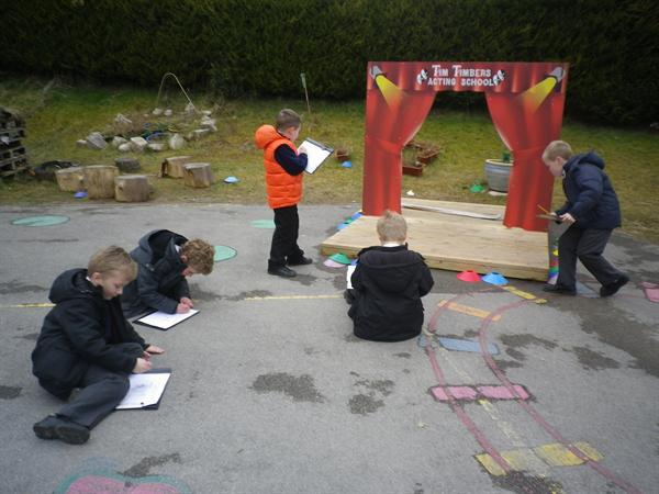 Geography- field sketches of our school