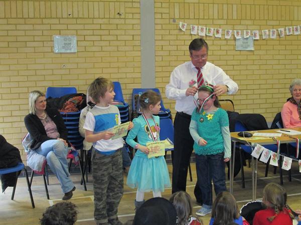 Well done Elin, Mair and Rowan!