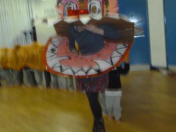 Our amazing Chinese Dragon-made by the NAM!