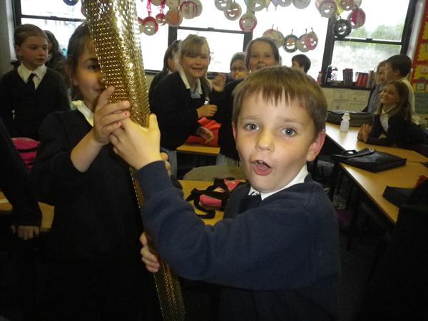 The Olympic Torch in 3CJ