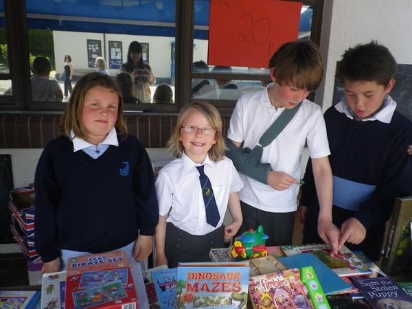 Raising money for Playground Equipment