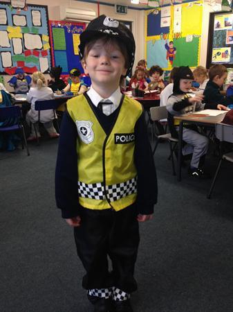 Jack is Officer Harvey!