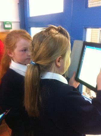 QR Reader Treasure Hunt around the School