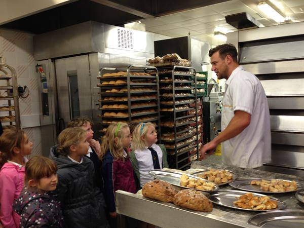 Meeting Kevin the baker