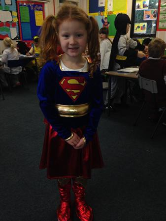 Leia is Supergirl!