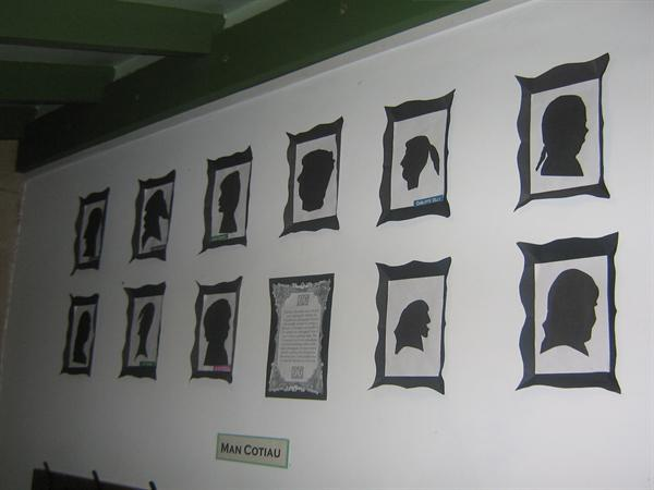 Some of our Victorian style shadow pictures.
