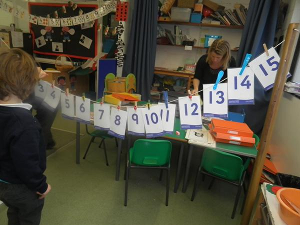 ordering numbers 0 to 20