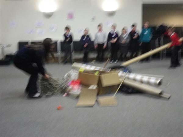 We took part in three workshops