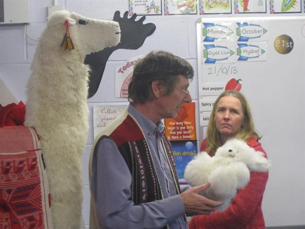 Paul and Jane's visit to Year 6