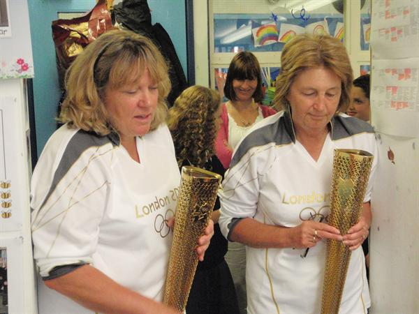 Olympic Torches!