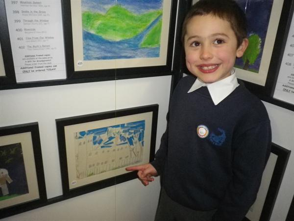 We loved showing our work to everyone