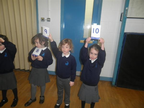ordering numbers 0 to 10