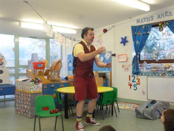 Juggling skills!