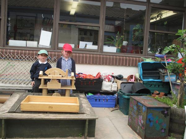 Building treasure chests