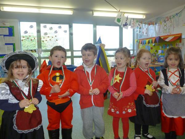 The winners!! Grwp Coch!