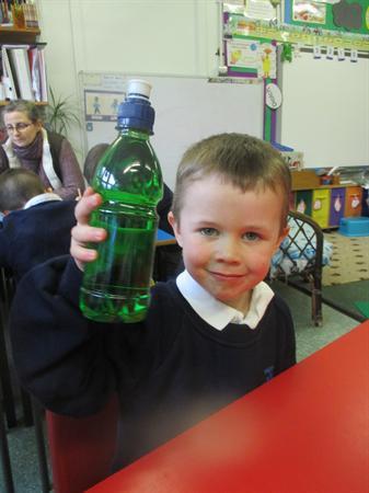 How full is the bottle?
