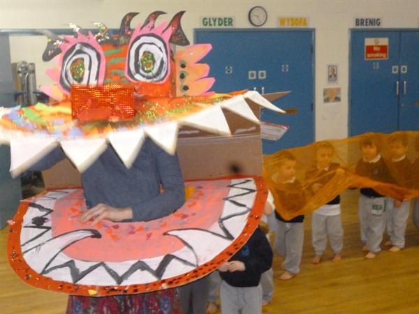 Our amazing Chinese dragon!