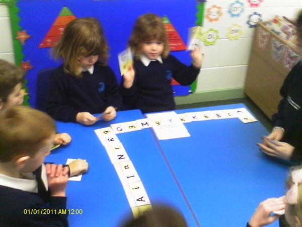 Literacy- Capital Letter Game