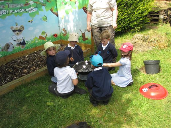 Fire safety and cooking -yummy!
