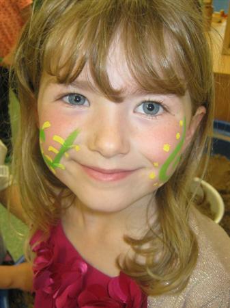 Carnival face paint