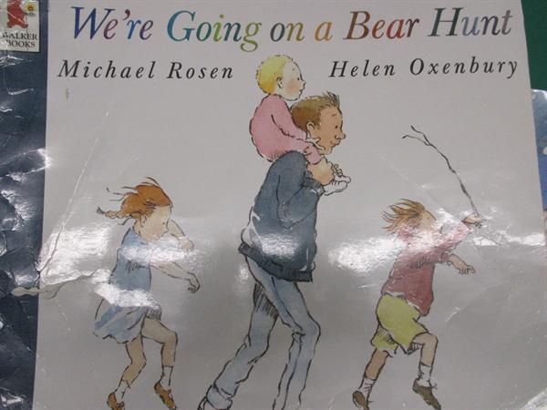 We're going on a bear hunt story