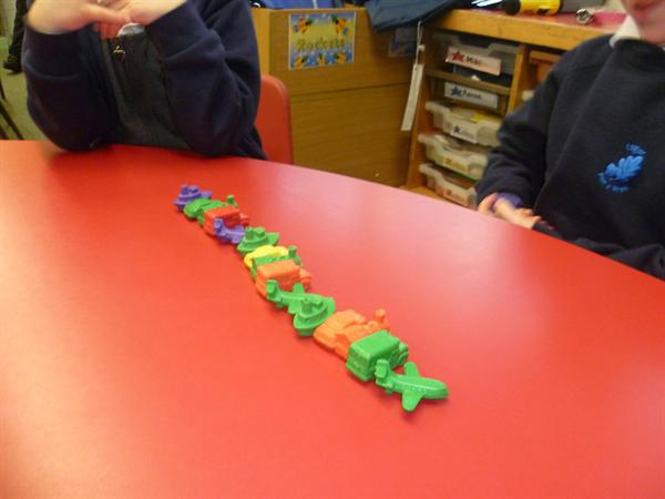 MD- counting objects, sorting and sequencing.