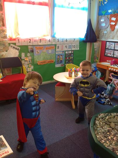 we love dressing up in Nursery Plus