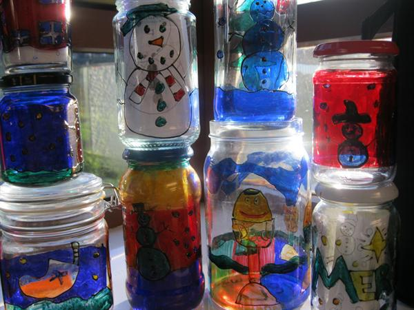 Our Glass Painting