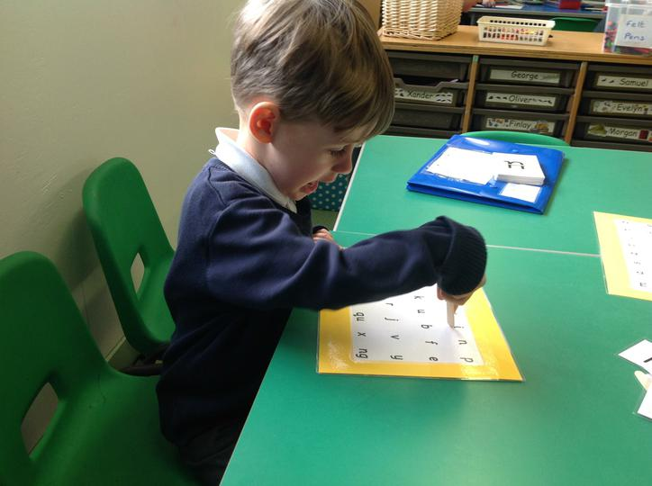 Reading sounds independently
