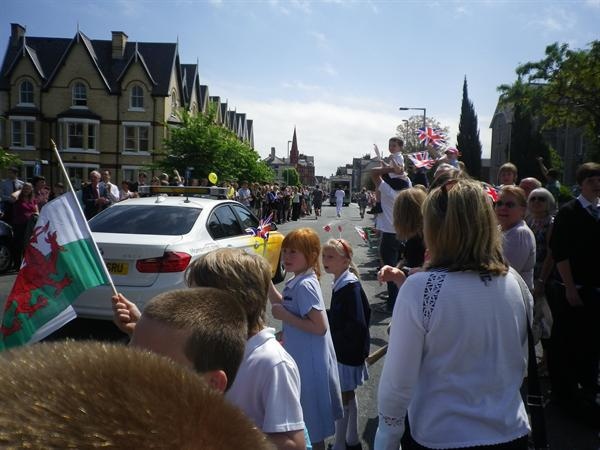 Olympic Torch in Colwyn Bay