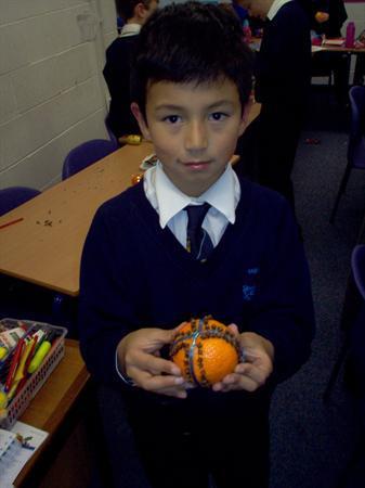 Juan and his pomander