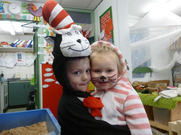 Bagpuss and The Cat in the hat!