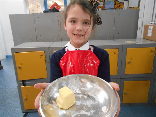 Cooking delicious Welsh Cakes
