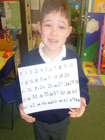 NF/MD- writing numbers to 100: fill in the missing