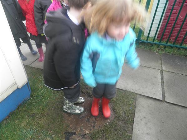 water and mud everywhere!!!!!!!!!!!!!!!!!!
