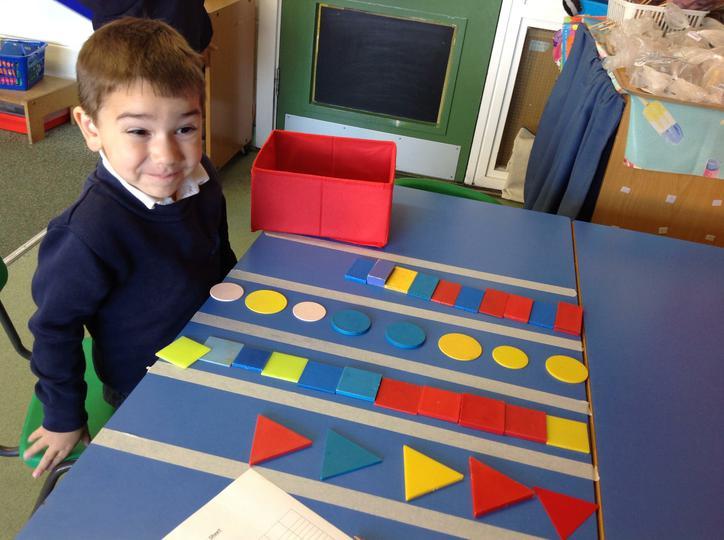 Square circle rectangle triangle