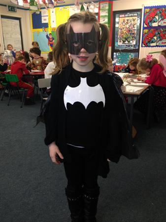 Mia is Batgirl!