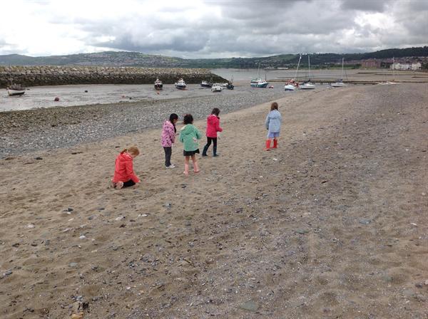 Rhos-on-Sea beach