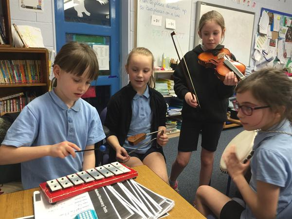Composing and performing!