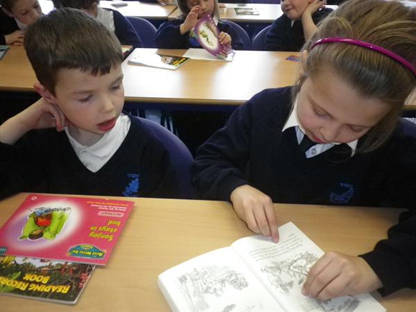 Reading with Year One